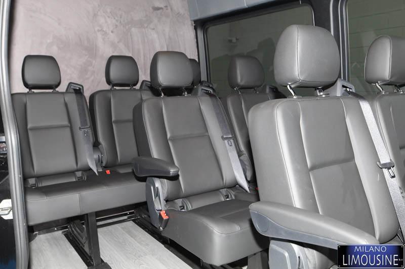 Mercedes Sprinter Extra Long Deluxe Minibus